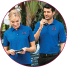 Customizable Uniforms Including Polos and Knits in Ohio